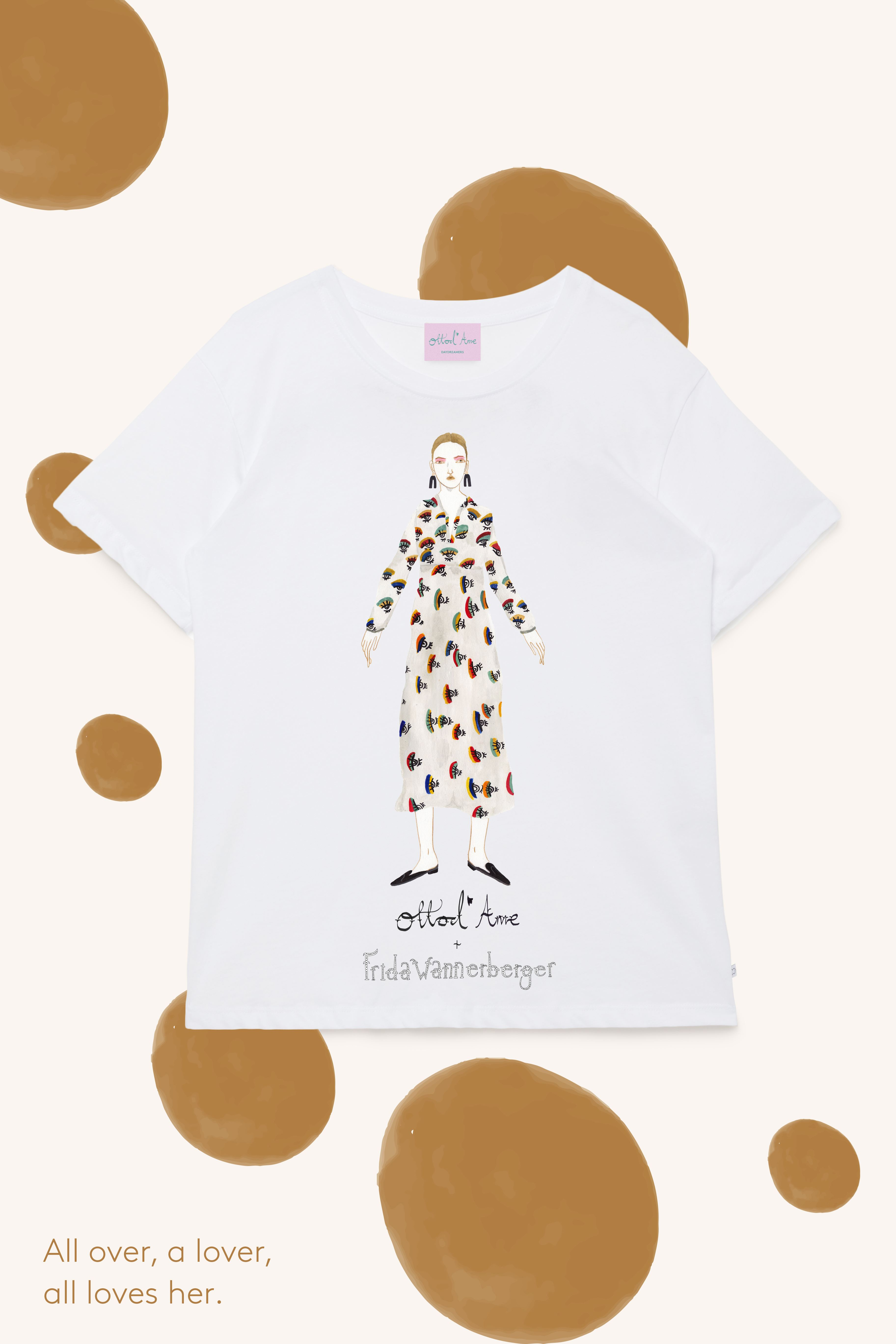 ottod'Ame + Frida Wannerberger capsule collection in support of The Circle Italia
